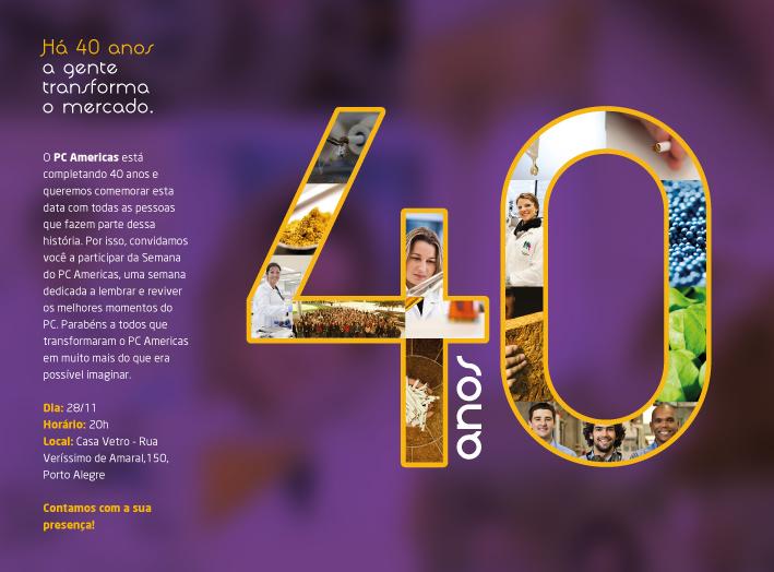 40 anos PC Américas